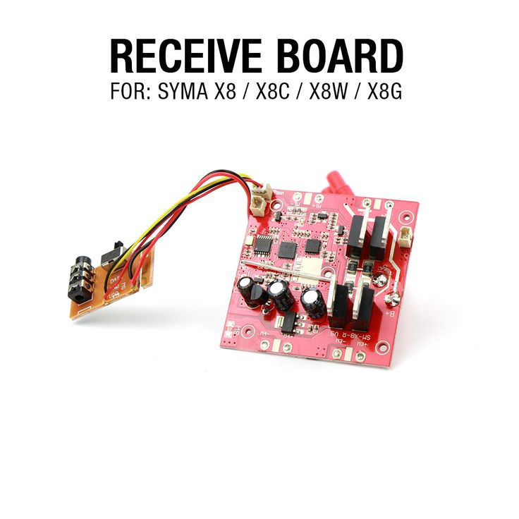Syma X8 Syma X8C Syma X8W Receiver 2.4G 4ch 6 Axis RC Quadcopter RC Drone Parts Part Replacements Accessories Free Shipping //Price: $14.47 & FREE Shipping //     #RCAirplane