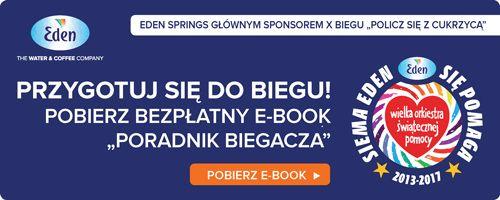 """Bezpłatny e-book """"Poradnik Biegacza! Przygotuj się do Biegu """"Policz się z cukrzycą"""" razem z nami! http://www.eden.pl/ebook-poradnik-biegacza/podziekowanie.php"""
