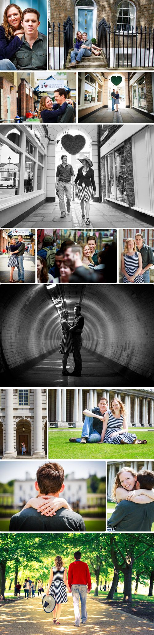 Greenwich Engagement Shoot - Arthur Lewis Photography