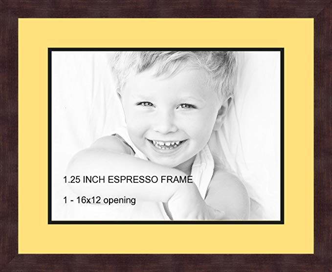 Art To Frames Double Multimat 728 47r 89 Frbw26061 Collage Frame Photo Mat Double Mat With 1 12x16 Openings And Espresso Frame Frame Collage Frames Framed Art
