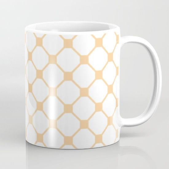 Available in 11 and 15 ounce sizes, our premium ceramic coffee mugs feature wrap-around art and large handles for easy gripping. Dishwasher and microwave safe, these cool coffee mugs will be your new favorite way to consume hot or cold beverages.  @society6 #art #abstract #fashion #style #chic #contemporary #modern #pattern #design #color #women #men #shop #shopping #buy #sale #home #decor #orange #coffee #mug