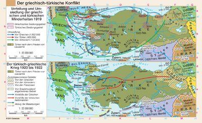 Der griechisch-türkische Konflikt