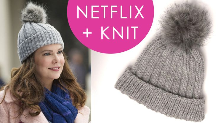 How to Knit a Hat Inspired by Gilmore Girls | Ribbed Knitted Hat, Cap, Beanie | Netflix and Knit with Studio Knit