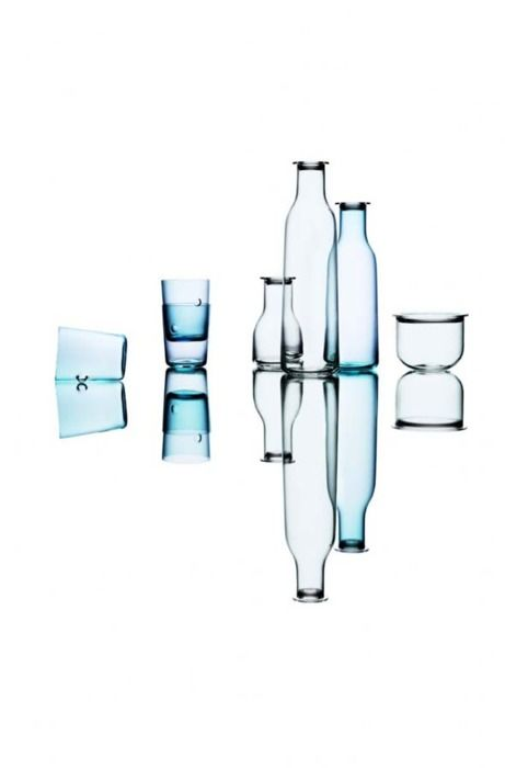 Holmegaard glass and carafe