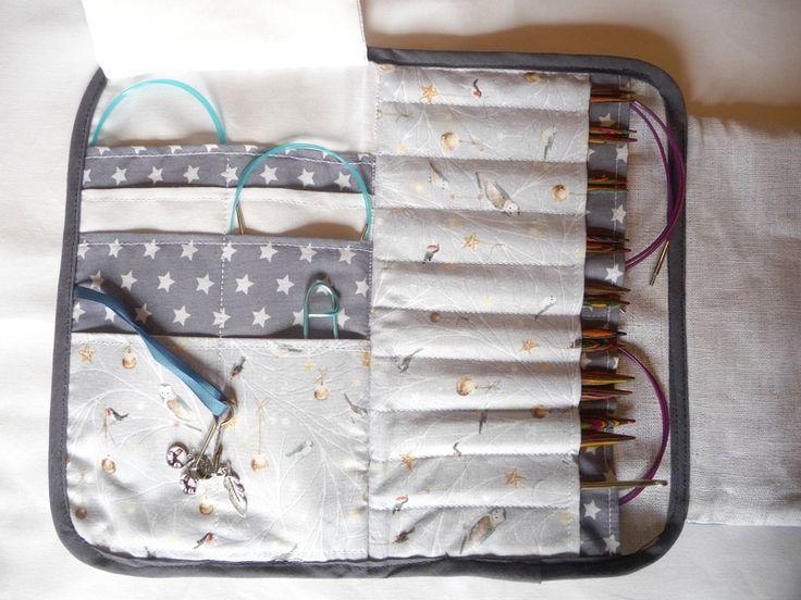 needles pouch by Les Boutiqueuses (trousse à aiguilles) lien vers tuto gratuit