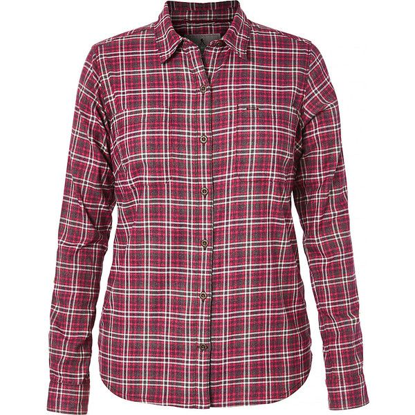 Royal Robbins Womens Performance Plaid Flannel - XL - Cerise - Women's... ($47) ❤ liked on Polyvore featuring activewear, pink, stretchy shirts, tartan plaid flannel shirt, tartan flannel shirt, flannel shirt and pink flannel shirt