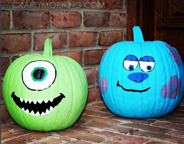 40 Cute and Easy Pumpkin Painting Ideas 8