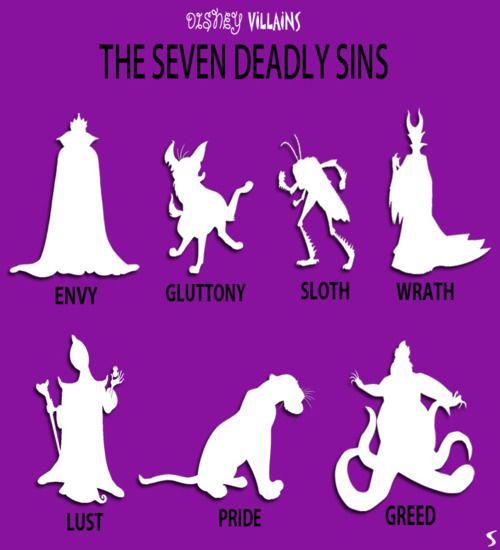 The Seven Deadly Sins #sevendeadliesbook