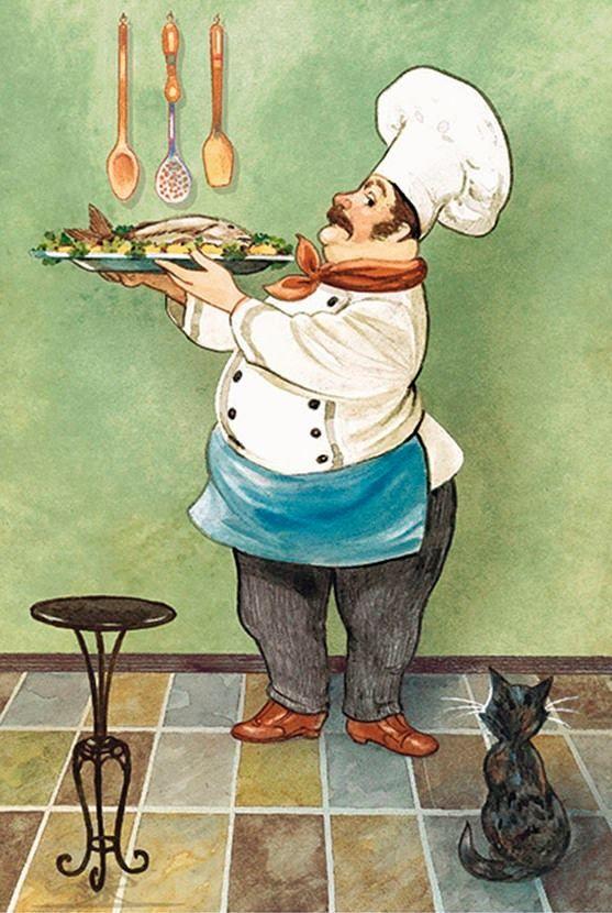 Открытки кулинарные