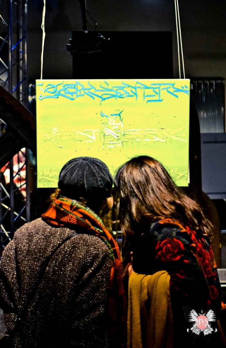 Vernissage de l'exposition INK EYE des artistes Dema et Boho
