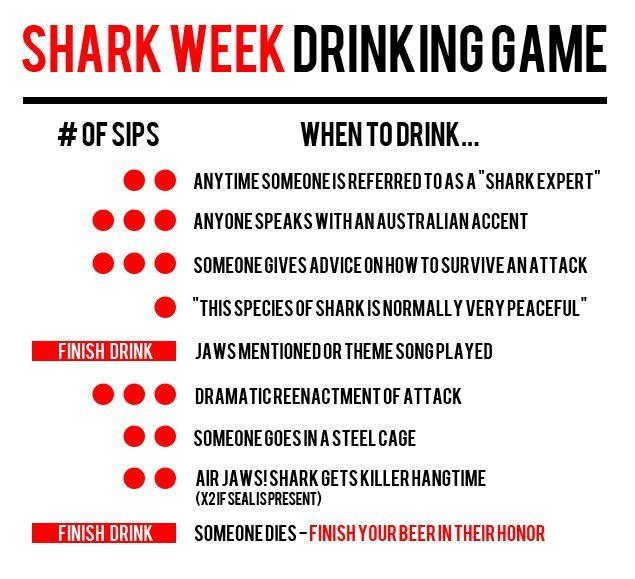 Let the games begin... Shark Week 2014 Aug. 10-17