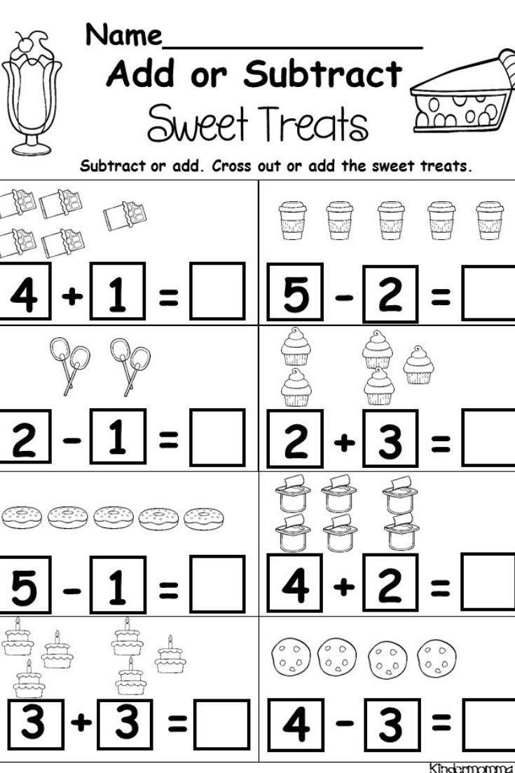 Kindergarten Math Worksheets Addition Fichas De Matematicas Problemas Matematicos Actividades De Aprendizaje