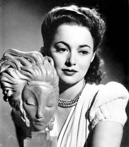 George Hurrell - Olivia de Havilland (1940)