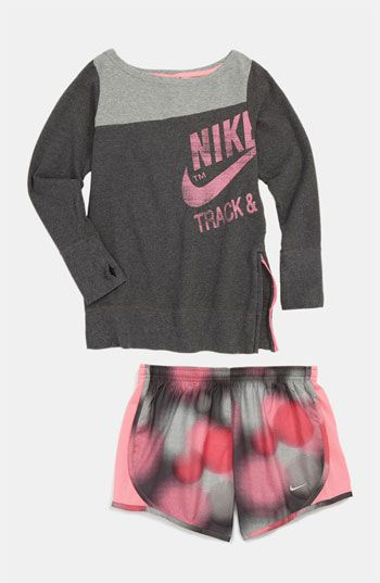 Nike Sweater & Shorts (Big Girls)  available at #Nordstrom