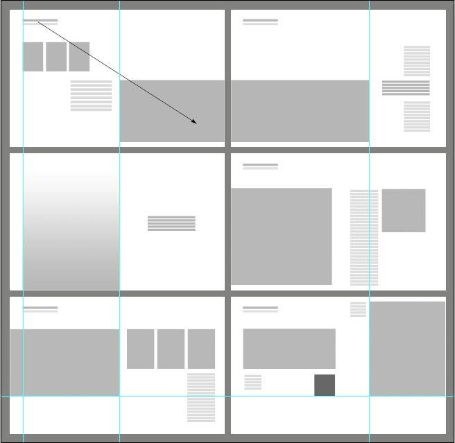 portfolio layout - Google 검색