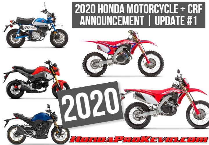 New 2020 Honda Motorcycles Released New Changes Prices More Info Honda Motorcycles Honda Hero Honda Bikes