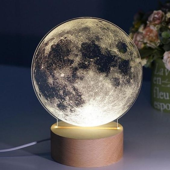 Levitating 3d Moon Lamp Walmart Com In 2020 Night Light Led Night Light Night Lamps