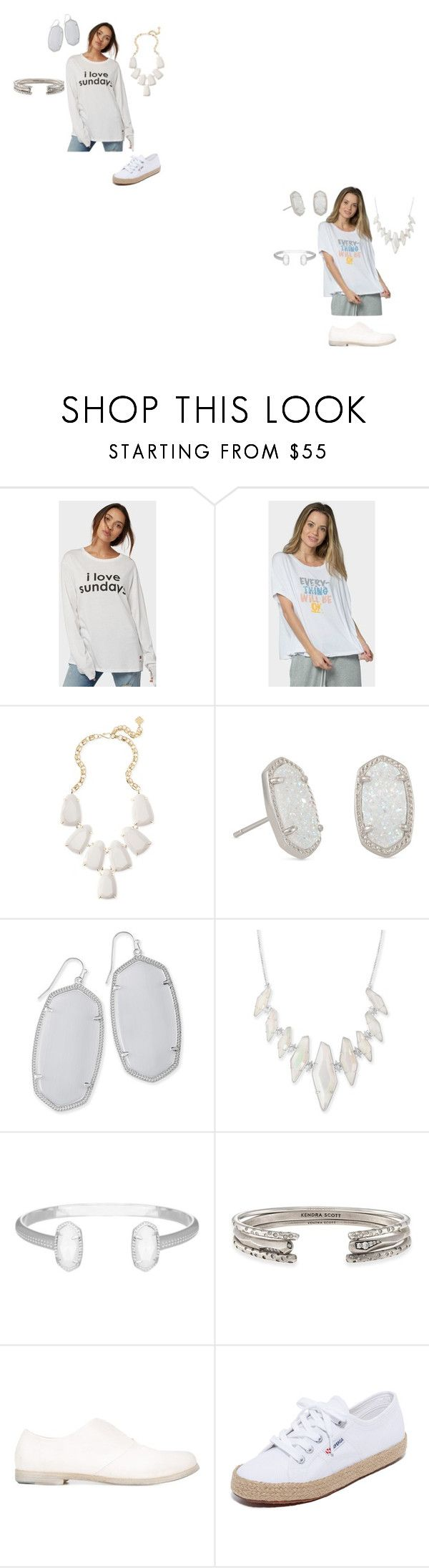 """Dress courtesy"" by ramakumari ❤ liked on Polyvore featuring Peace Love World, Kendra Scott, Marsèll, Superga, Summer, summerstyle, fashionable, fashionset and summer2017"