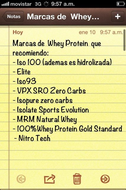 Estas son varias marcas de WheyProtein q recomiendo, si es Isolate mejor(mas pura 0g Lactosa) Photo - Sascha Barboza | Lockerz
