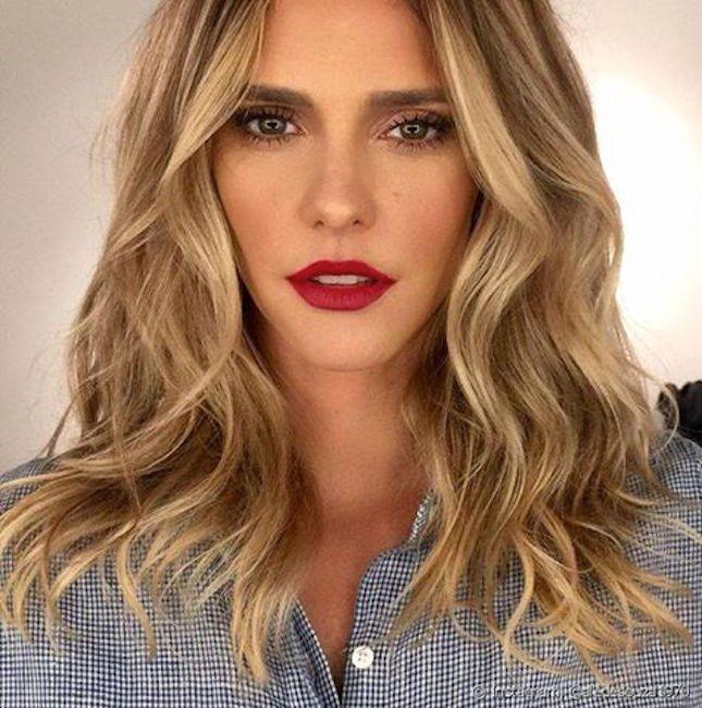 maquiagens da Fernanda Lima, beleza, maquiagem, makeup, beauty, batom vermelho, red lipstick