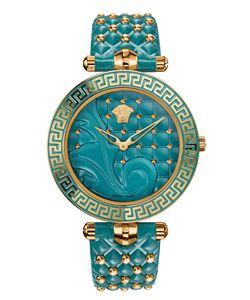 Versace Versace Vanitas  Turquoise Watch
