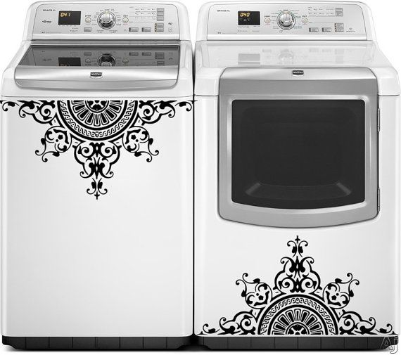 Hey, I found this really awesome Etsy listing at https://www.etsy.com/listing/182715454/washer-dryer-vinyl-decals-appliance