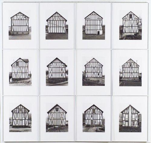 Bernd and Hilla Becher - Framework Houses