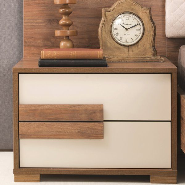 Linsey 2 Drawer Nightstand Furniture 2 Drawer Nightstand Side Tables Bedroom