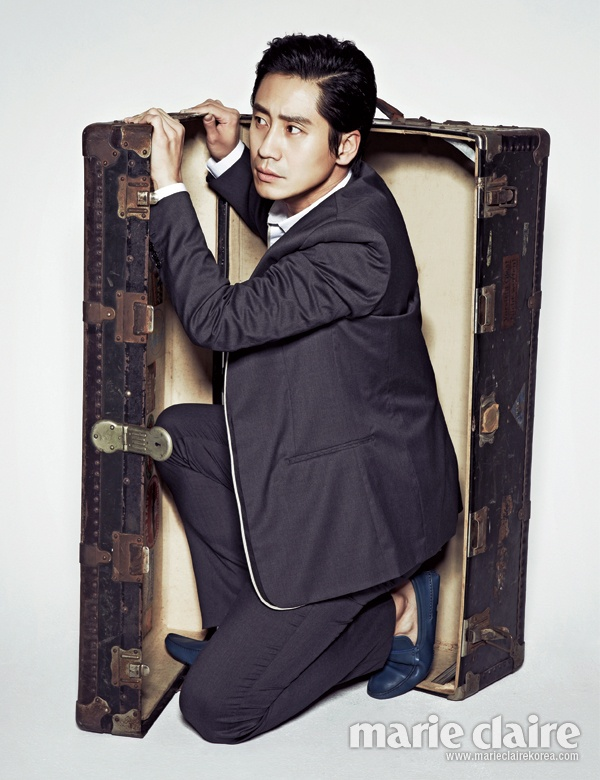 Shin Ha-kyun  April 2013 Oppa how they left him out? Those eyes and smile in full power should be illegal !