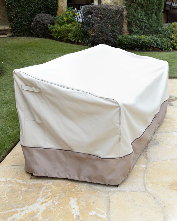 Horchow Outdoor Loveseat Cover