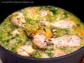 Qchenne-Inspiracje! FIT blog o zdrowym stylu życia i zdrowym odżywianiu. Kaloryczność potraw. : Kurczak w aromatycznym sosie koperkowym z rozmarynem
