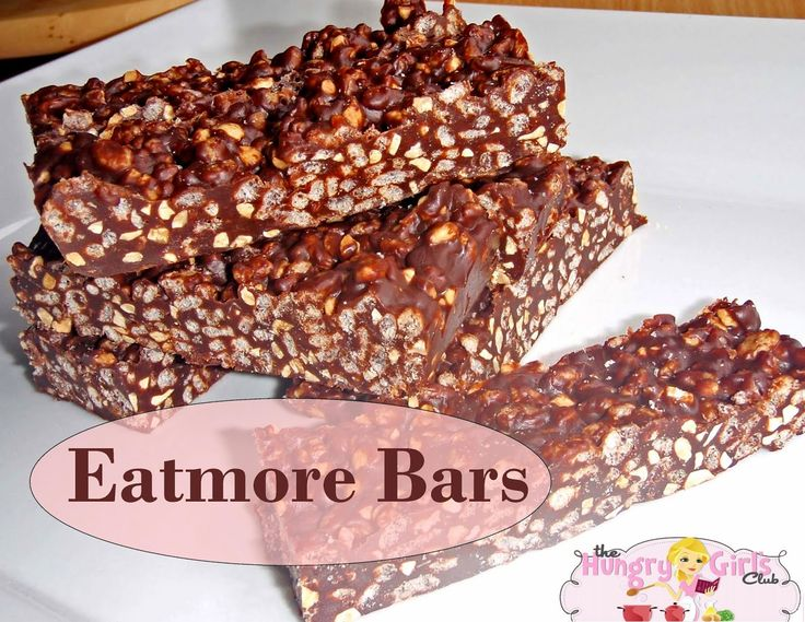 The Hungry Girl's Club: Eatmore Bars