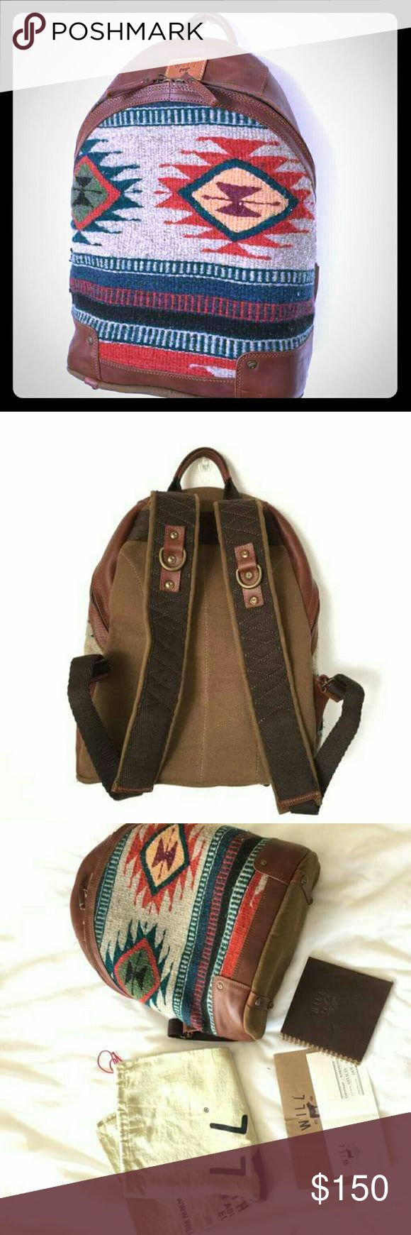ISO WLL LEATHER  GOODS BACKPACK Any will leather goods backpack Will Leather Goods Bags Backpacks