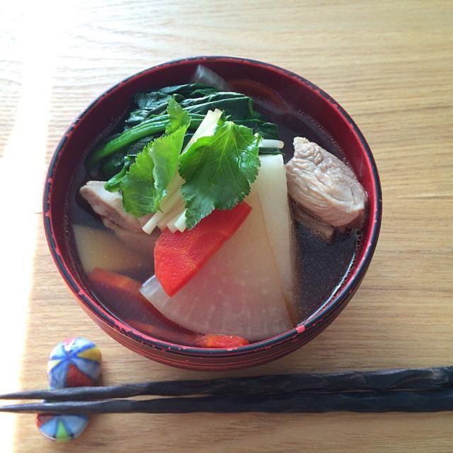 東京風です。 - 122件のもぐもぐ - 1/1/2015 お雑煮 by Jean Noby