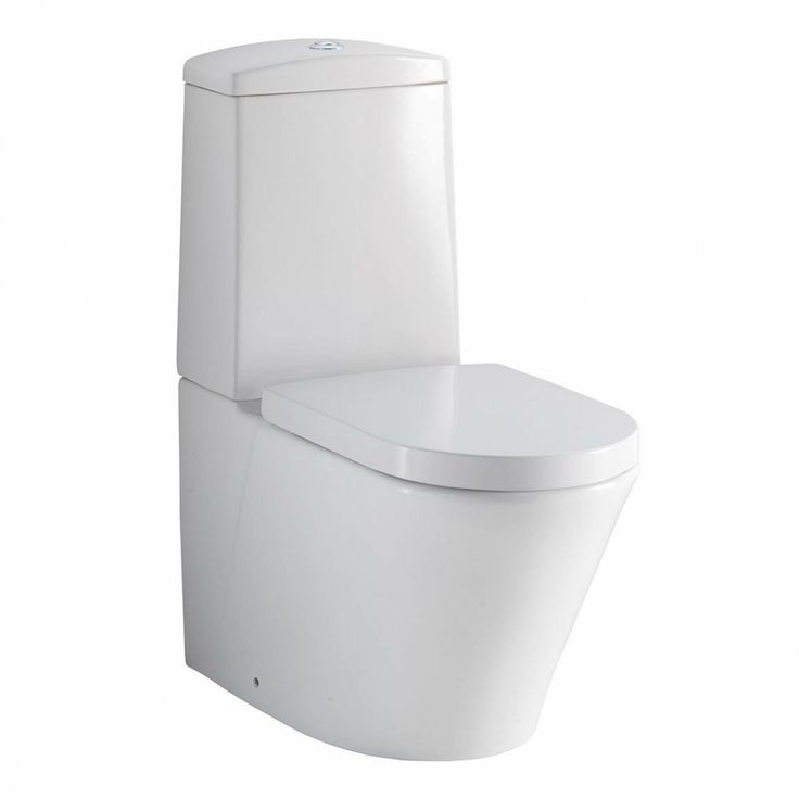 Arc Close Coupled Toilet including Quick Release Soft Closing Seat