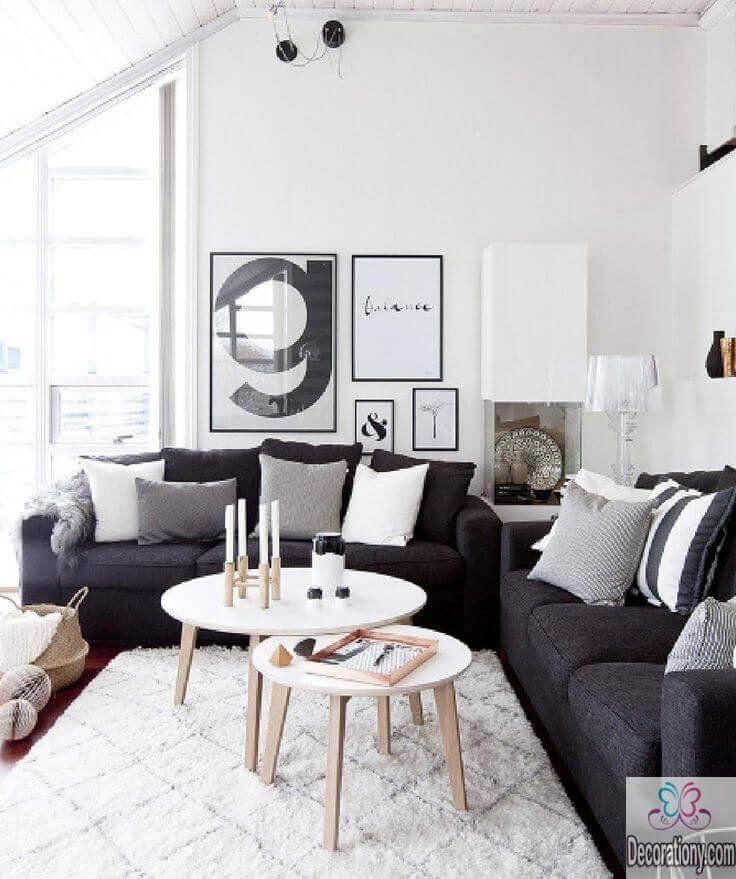 White Living Room Decor Ideas 45 Living Room Wall Decor Ideas Grey Couch Living Room Grey Sofa Living Room Dark Grey Couch Living Room