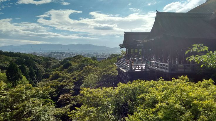 View of Kyoto last summer [OC]
