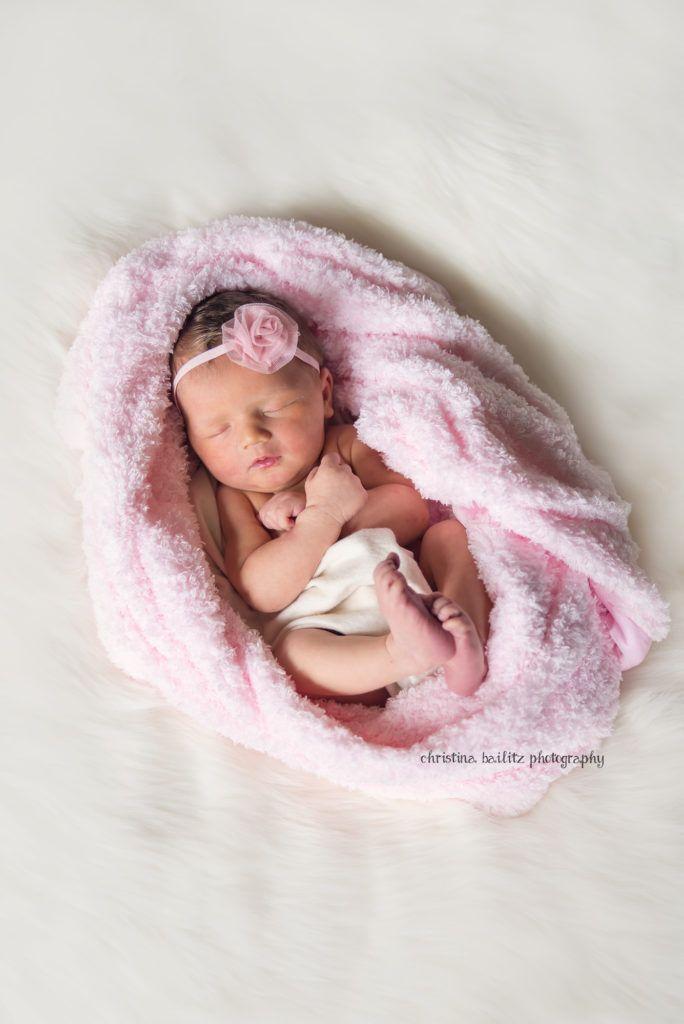 85667a43b2ef4 Christina Bailitz Photography Chicago Photographer Newborn Baby Girl Photo  Session