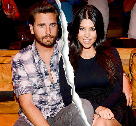 Kourtney Kardashian Splits From Scott Disick After He's Caught With Ex - Us Weekly