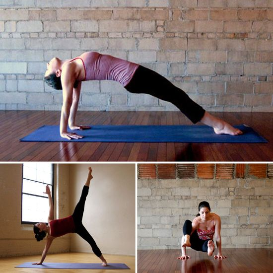 Tummy-Toning Yoga Poses: A strong core prevents back pain, improves your balance and posture, and hey — it looks pretty good in a bikini, too. Try out this yoga sequence to tone your midsection just in time for Summer.