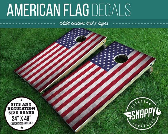 Hey, I found this really awesome Etsy listing at https://www.etsy.com/listing/386549624/american-flag-cornhole-decal-bags-vinyl