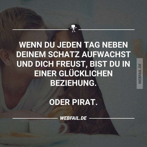 Pirat Schatz Love wake up relationship