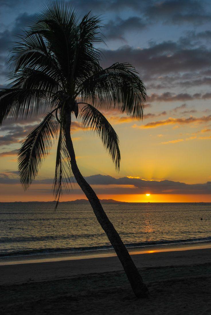 Sunset in Nadi, Fiji