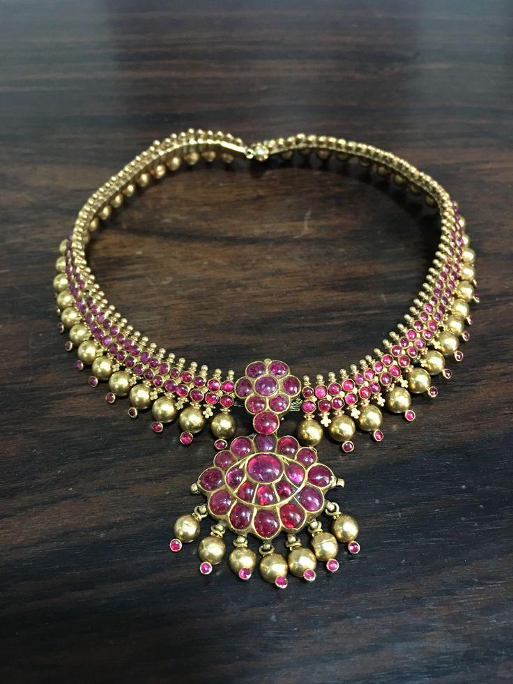 antique necklace gaja atigai