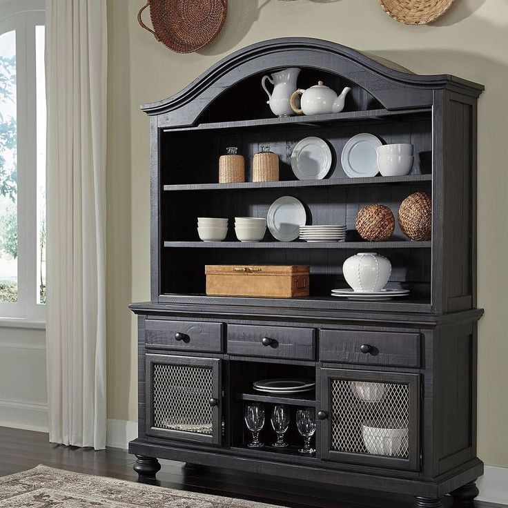 That Furniture Outlet - Minnesota's #1 Furniture Outlet. We have exceptionally low everyday prices in a very relaxed shopping atmosphere. Ashley Sharlowe Dining Buffet with Hutch http://ift.tt/2bbD6DE #thatfurnitureoutlet  #thatfurniture