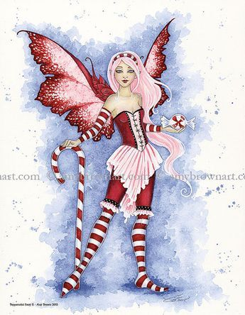 Peppermint Faery II by Amy Brown