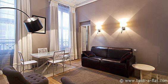 Apartment rental 1 bedroom Paris rue Volney 2nd District - Nearest metro Opéra