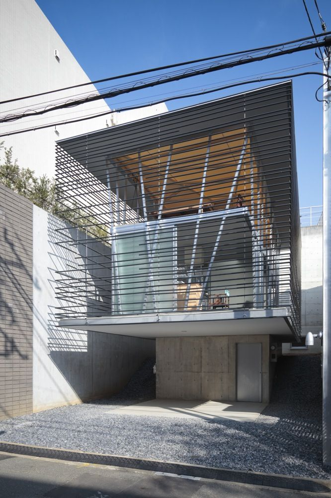 House Design Inspired from Traditional Japanese Landscape Architecure by ARCHITECTON  December 7th, 2009 - Posted in Architecture Design  ARCHITECTON is Japan based architecture who designing this house. This is small house design located in Tokyo