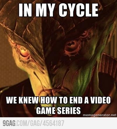 Javik didn't like the Mass Effect 3 ending