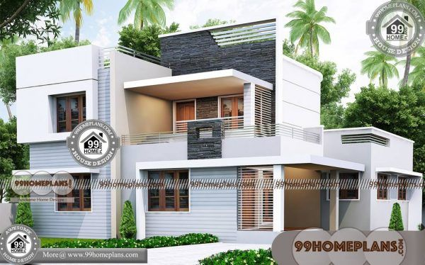 Exterior Elevation House Design 60 Modern Two Story Homes Plans Modern Exterior House Designs Simple House Plans House